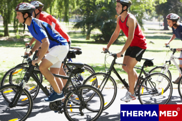 Thermamed is great for cyclists